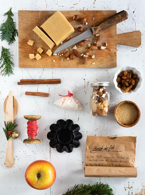 Last Minute Geschenk, Bratapfel-Set, Bratapfel, Geschneke aus der ...