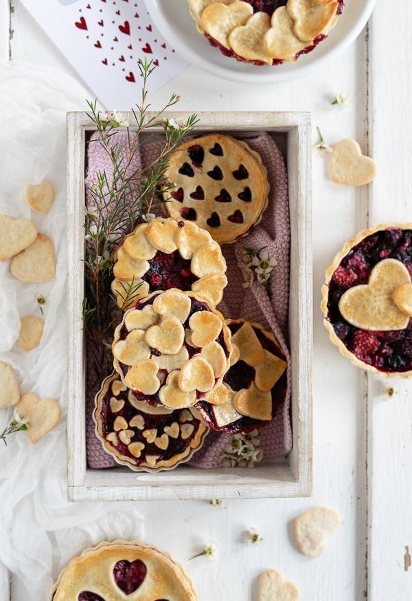 Herzige Beeren Tartes
