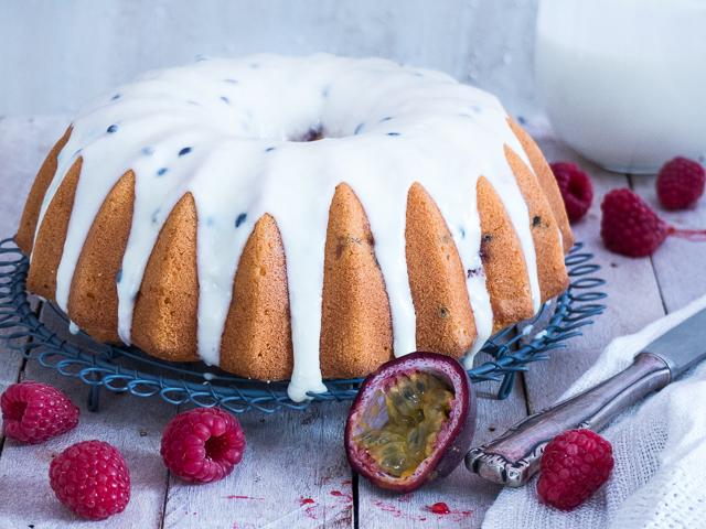 Himbeer Buttermilch Passionsfrucht Kuchen Meine Kuechenschlacht