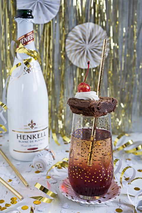 Black Forest Silvester Sekt-Cocktail {Werbung}