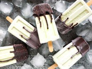Avocado-Honig-Eis