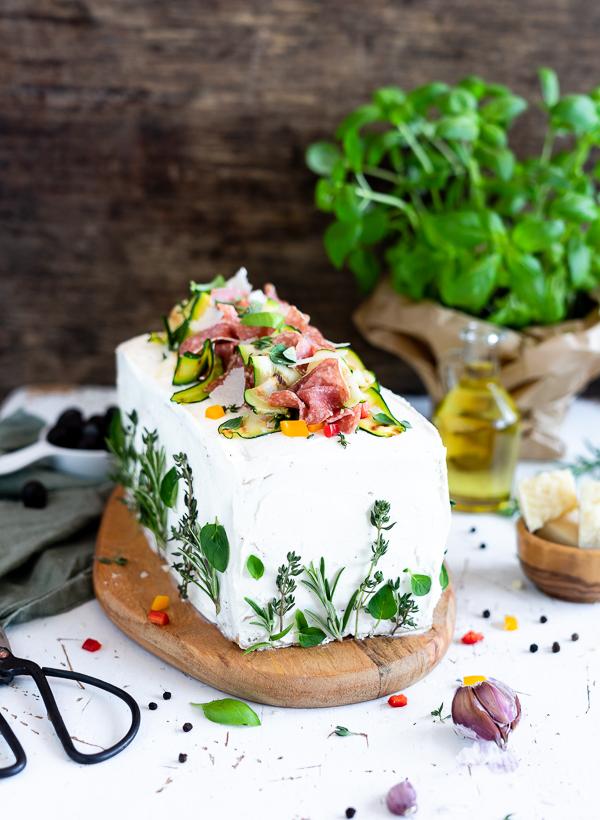 herzhafte Brote Torte