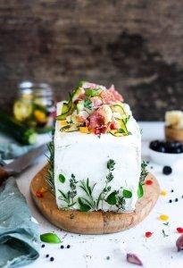 herzhafte Brot Torte