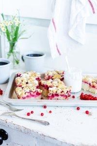 Johannisbeer-Streusel Kuchen