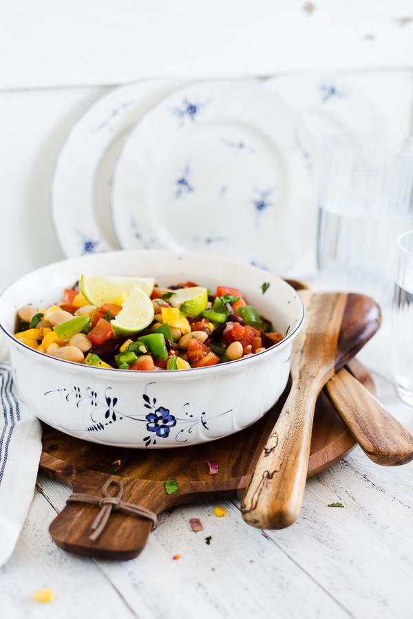 Mexikanischer Bohnen Salat