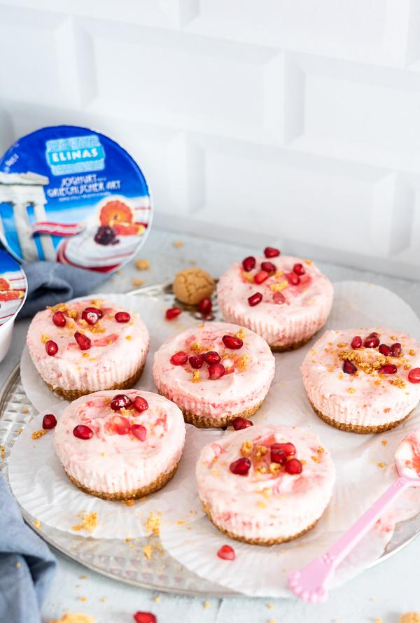 mini Joghurt Cheesecake, Fruchtig