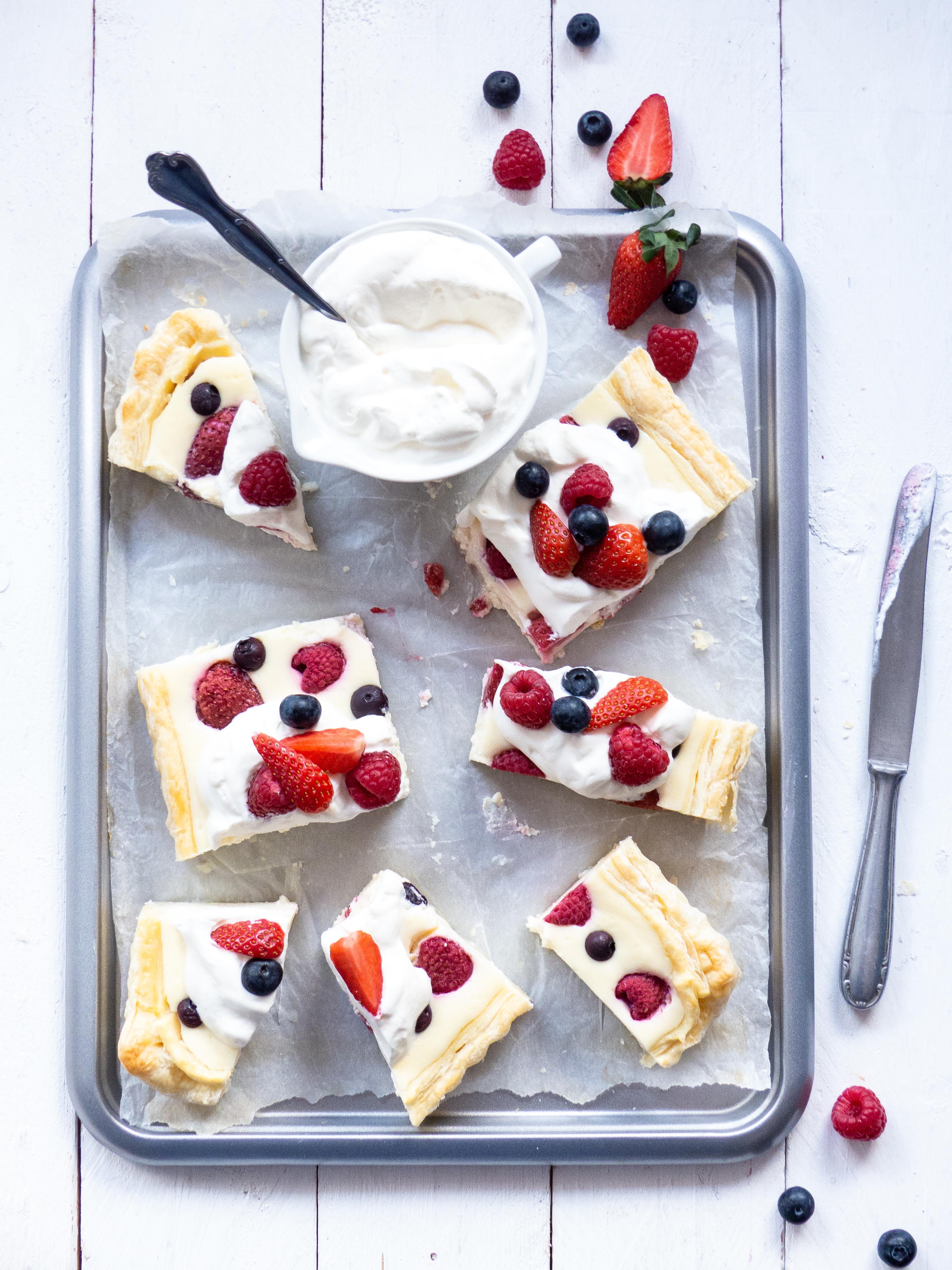 easy Beeren-Cheesecake