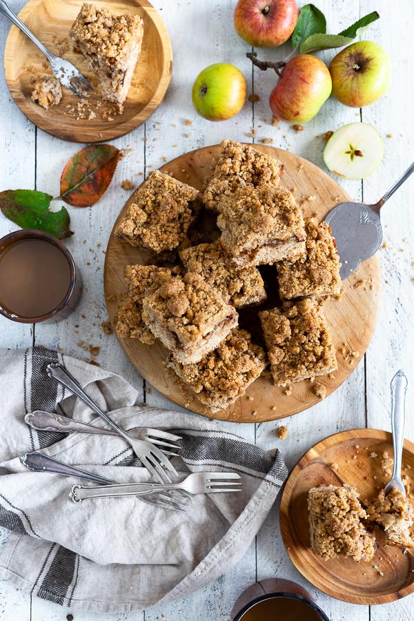 Vollkorn Kuchen mit Apfel