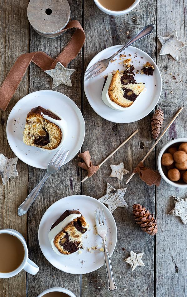 Weihnachtlicher Marzipan-Lebkuchen Gugel