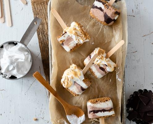 S'mores Frozen Joghurt