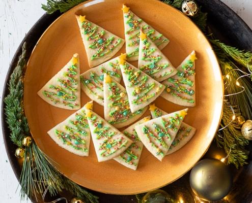 Weihnachtsbaum Kekse